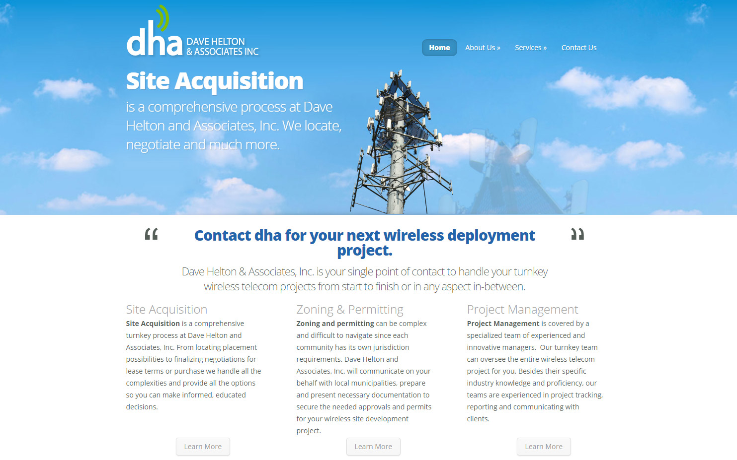 DHA website